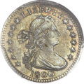 Early Half Dimes, 1800 H10C MS63+ PCGS. V-1, LM-1, R.3....