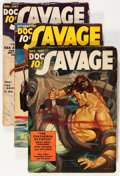 Pulps:Adventure, Doc Savage September-December '37 Group (Street & Smith, 1937) Condition: Average VG/FN.... (Total: 4 Comic Books)