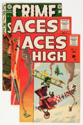 Golden Age (1938-1955):Miscellaneous, EC Comics Group (EC, 1953-55).... (Total: 7 Comic Books)