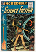 Golden Age (1938-1955):Science Fiction, Incredible Science Fiction #33 (EC, 1956) Condition: VG/FN....