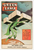 Golden Age (1938-1955):Science Fiction, Green Lama #6 (Spark Publications, 1945) Condition: VG+....