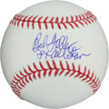 "Autographs:Baseballs, Bob Feller Single Signed Baseball With ""8 X All Star""Inscription...."