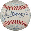 Autographs:Baseballs, Baseball Legends Multi Signed Baseball (With Mantle AndDiMaggio)....
