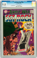 Silver Age (1956-1969):War, Our Army at War #188 (DC, 1968) CGC NM/MT 9.8 Off-white to white pages....