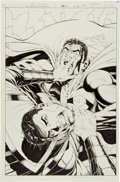Original Comic Art:Covers, Ian Churchill and Norm Rapmund Superman #216 Cover OriginalArt (DC, 2005)....