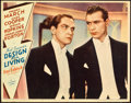 """Movie Posters:Comedy, Design for Living (Paramount, 1933). Lobby Card (11"""" X 14"""").. ..."""