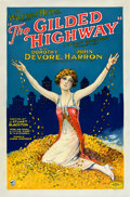 "Movie Posters:Drama, The Gilded Highway (Warner Brothers, 1926). One Sheet (27"" X 41"")....."