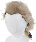 Military & Patriotic:Revolutionary War, 18th Century Wig as Worn by Many Military Officers During the American Revolution....