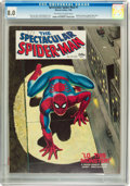 Magazines:Superhero, Spectacular Spider-Man #1 (Marvel, 1968) CGC VF 8.0 Off-white towhite pages....
