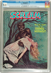 Scream #4 (Skywald, 1974) CGC VF+ 8.5 Cream to off-white pages