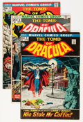 Bronze Age (1970-1979):Horror, Tomb of Dracula Group (Marvel, 1972-77) Condition: Average FN-....(Total: 14 Comic Books)