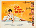 """Movie Posters:Drama, Cat on a Hot Tin Roof (MGM, 1958). Half Sheet (22"""" X 28"""") Style B....."""