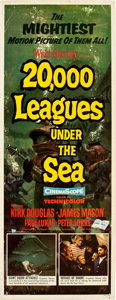 "Movie Posters:Science Fiction, 20,000 Leagues Under the Sea (Buena Vista, 1954). Insert (14"" X36"").. ..."