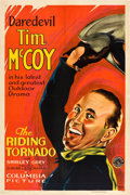 """Movie Posters:Western, The Riding Tornado (Columbia, 1932). One Sheet (27"""" X 41"""").. ..."""