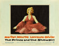 """Movie Posters:Romance, The Prince and the Showgirl (Warner Brothers, 1957). Lobby Card (11"""" X 14"""").. ..."""