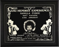 Music Memorabilia:Posters, Jimi Hendrix Experience Spokane Coliseum Concert Poster (1968).With the release of the classic double-record albumElectr...