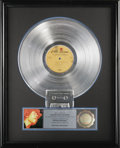 "Music Memorabilia:Awards, Jimi Hendrix ""Electric Ladyland"" RIAA Platinum Album Award.Presented to Warner Bros. Records by the RIAA in 1986 to commemo..."
