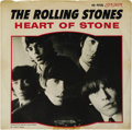 """Music Memorabilia:Recordings, Rolling Stones """"Heart Of Stone"""" 45 w/Picture Sleeve London 9725(1965). Here's what is generally considered to be the third ..."""