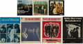 Music Memorabilia:Recordings, Rolling Stones Records, Songbook, and Sheet Music Group (1964-68).This varied offering features four records with picture s...