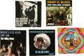 Music Memorabilia:Recordings, Rolling Stones Picture Sleeve w/Records Group of 5 (1966-67). Pictures sleeves with records from, some would argue, the Ston... (Total: 5 )