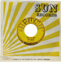 """Music Memorabilia:Recordings, Elvis Presley """"That's All Right"""" 45 Sun 209 (1954). It's always athrill seeing Elvis' first Sun recording -- certainly one ..."""