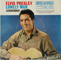 """Music Memorabilia:Recordings, Elvis Presley """"Surrender"""" 33 Compact Single RCA 37-7850 (1961). Rare compact single, b/w """"Lonely Man"""". Very hard to find thi..."""