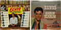 """Music Memorabilia:Recordings, Elvis Presley Sealed LP Group of 2 (1965). Two 1965 releases fromThe King, including """"Elvis For Everyone"""" (RCA LSP-3450) an...(Total: 2 )"""