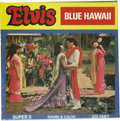 "Music Memorabilia:Memorabilia, Elvis Presley ""Blue Hawaii"" Sealed Super 8 Film Excerpt (Ken Films 1963). This rare Super 8 pack of approximately 16 minutes..."