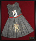 Music Memorabilia:Memorabilia, Elvis Presley Official Unused Jumper Dress (Little Jean Togs, Inc.,1956). This is one incredible item for any Elvis fan! Th...
