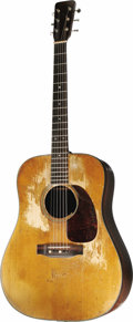 Musical Instruments:Acoustic Guitars, Kurt Cobain's 1953 Martin Acoustic Guitar. Singer, songwriter, andreluctant spokesman for Generation X, Kurt Cobain played ...