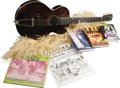 Music Memorabilia:Autographs and Signed Items, Pamela Des Barres Guitar and Memorabilia Lot. Author, actress, and former Rock and Roll groupie par excellence, Pamela D... (Total: 5 )