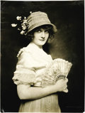 Movie/TV Memorabilia:Photos, Billie Burke Vintage Photo. A beautifully winsome portrait of ayoung Billie Burke, probably taken during the World War I ye...