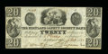 Obsoletes By State:Ohio, Kirtland, OH- The Kirtland Safety Society Bank $20 Feb. 20, 1837G12 Rust 9 Wolka 1424-14. ...