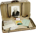 Movie/TV Memorabilia:Memorabilia, Cecil B. DeMille Suitcase with Personal Items. One of the greatHollywood icons and a true film pioneer, Cecil B. DeMille di...