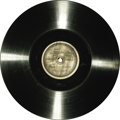 """Movie/TV Memorabilia:Recordings, """"Frankenstein"""" Sound Disc. Released in theaters during the earlydays of the sound era, Frankenstein -- and many other f..."""