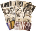 Movie/TV Memorabilia:Memorabilia, Vintage Hollywood Photos and Post Cards. This huge lot features 49silent-era postcards bearing the images of Francis X. Bu...