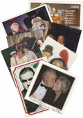 Movie/TV Memorabilia:Memorabilia, Bob Hope Personalized Christmas Cards. Set of eight personalized Christmas cards from Bob and Dolores Hope, dating from the ...