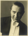 "Movie/TV Memorabilia:Photos, Vintage Bela Lugosi Photo. A vintage b&w 8"" x 10"" photo of the legendary actor, in Excellent condition with mild tanning and..."
