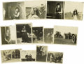 Movie/TV Memorabilia:Photos, Mabel Normand Personal Photos, Set of 13. Another great group of 13photos of Mabel and/or company, including one of Mabel p... (Total:13 )