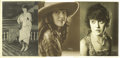 Movie/TV Memorabilia:Photos, Three Original Mabel Normand Photos. Here's Mabel in three distinctfashion styles of stardom. There's a quintessential smil... (Total:3 )