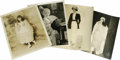 Movie/TV Memorabilia:Photos, Four Original Mabel Normand Photos. Four delightful images ofMabel: In shimmery, dressed-to-kill flapper garb, complete wit...(Total: 4 )