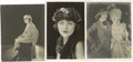 Movie/TV Memorabilia:Photos, Mabel Normand with Pauline Frederick and Phyllis Haver. A wonderful threesome from the files of Mabel Normand's secretary. S... (Total: 3 )