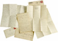 Movie/TV Memorabilia:Autographs and Signed Items, Three Letters from the Files of Mabel Normand's Secretary. This lot includes a love letter to Betty Coss from her soon-to-be... (Total: 3 )