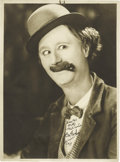 Movie/TV Memorabilia:Autographs and Signed Items, Ben Turpin Signed Photo. One of Mack Sennett's most vivid slapstickattractions was Ben Turpin (1896-1940), famed for his cr...