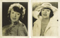 Movie/TV Memorabilia:Photos, Two Photos of Mabel Normand. Here's Mabel Normand as she surelywould have wanted her fans to remember her: pretty, wistful,...(Total: 2 )