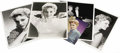"Movie/TV Memorabilia:Autographs and Signed Items, Kim Novak Photos. Set of six photos of the Vertigo actress,including two autographed b&w 8"" x 10"" portraits, three b&w..."