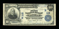 National Bank Notes:Maine, Bangor, ME - $10 1902 Plain Back Fr. 624 The First NB Ch. # (N)112....