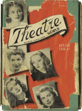 "Movie/TV Memorabilia:Autographs and Signed Items, Signed Copy of ""Theatre World 1946-47."" A vintage copy of theannual publication, signed by 83 actors, including Tallulah Ba..."