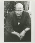 "Movie/TV Memorabilia:Photos, Marlon Brando as Colonel Kurtz Photo by Mary Ellen Mark. A 8"" x 10""glossy Marlon Brando as Colonel Kurtz, taken by photogra..."