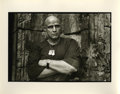 "Movie/TV Memorabilia:Photos, Marlon Brando ""Apocalypse Now"" Photo by Mary Ellen Mark. A 14"" x11"" b&w silver gelatin print of Marlon Brando in costume as..."